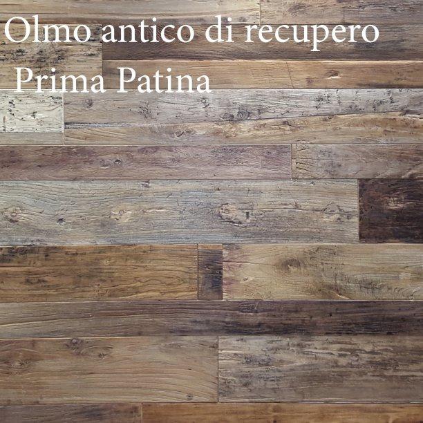 Linea Olmo Antico : PRIMA PATINA non verniciato